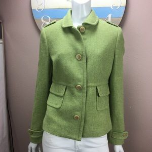 🔴 Banana Republic Beautiful Wool Blend Car Coat